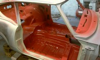 (GT6) tub interior primed and glossed