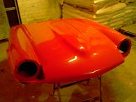GT6 bonnet in gloss after buffing