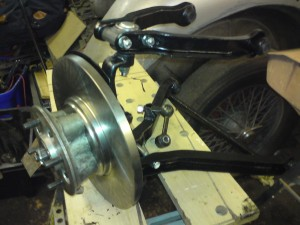 Gt6 rebuilt front suspension