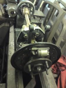 GT6 vertical link and shaft rebuilt