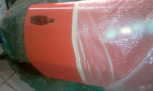 Re-glossed GT6 door skin