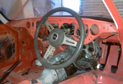 GT6 Steering column Fitting
