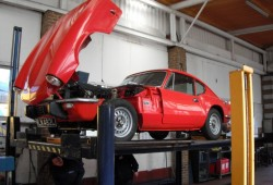 GT6 MOT at James Auto's Sindlesham Berkshire