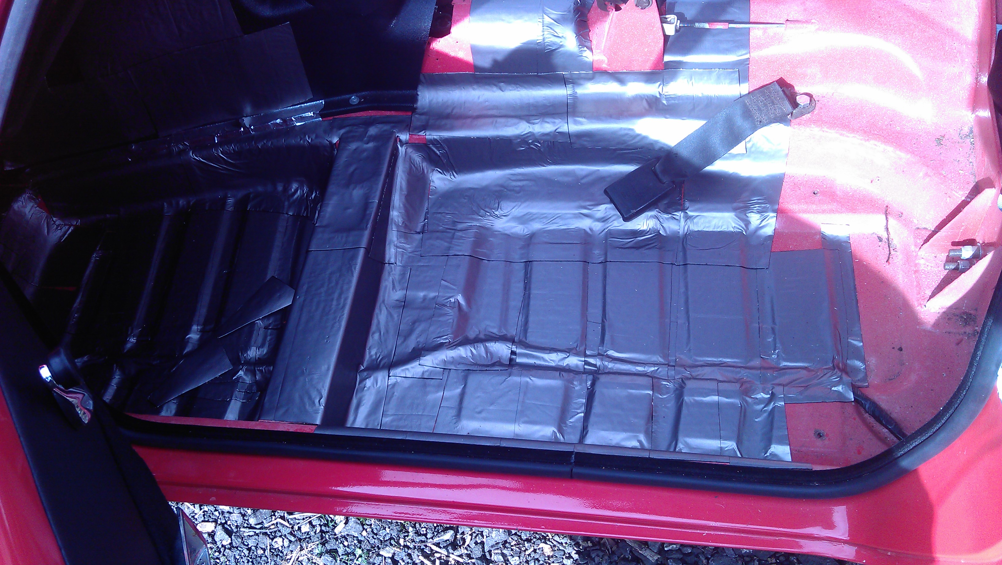 Heavy duty Automotive Sound deadening