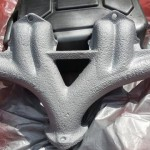 triumph sandblasted and painted GT6, TR6, 2000 or even 2500 exhaust manifold